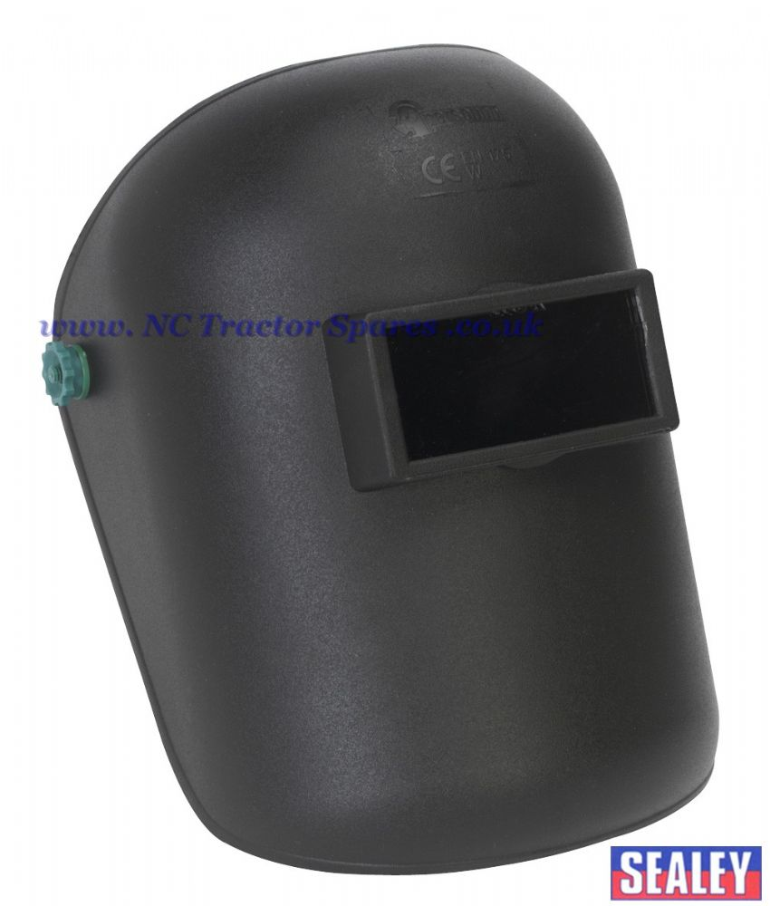 "Welding Headshield 2"" x 4-1/4"" Shade 10 Lens"